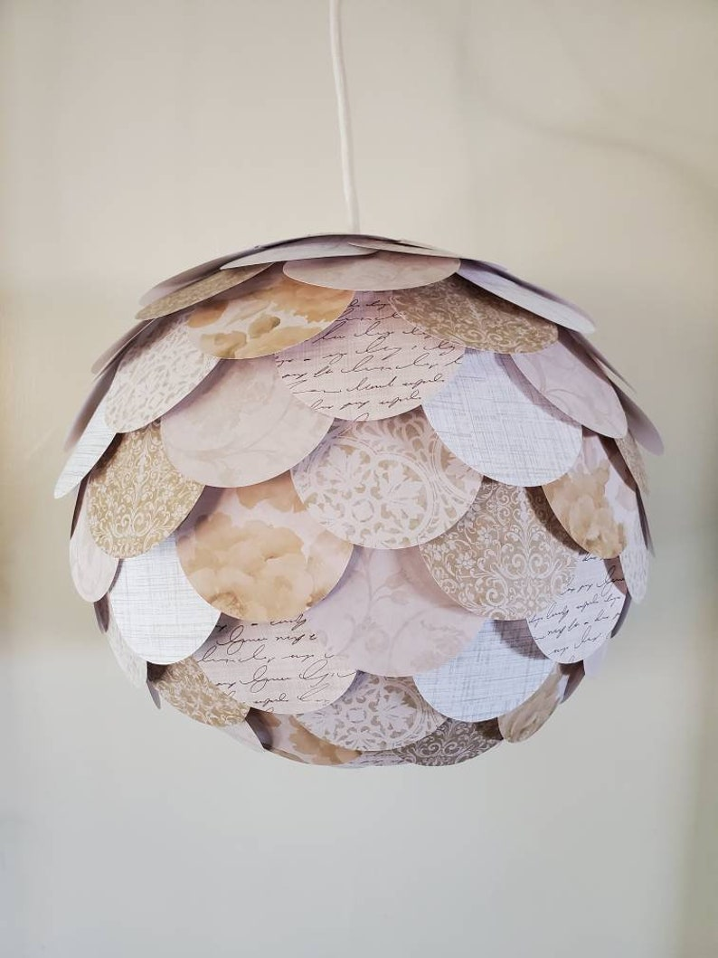 SWITZERLAND Paper Petal Lantern