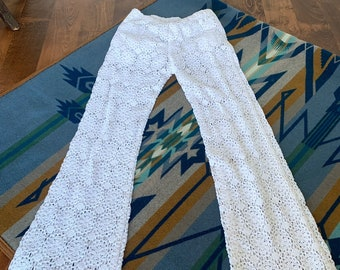 Crochet Pants Etsy