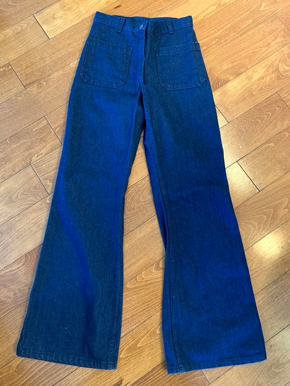 Vintage 1960's Navy Dungarees
