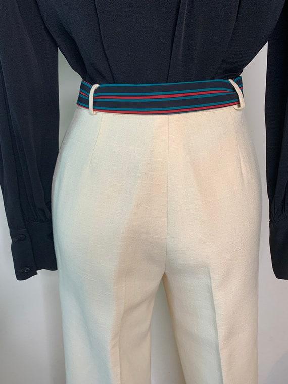 Vintage 70's Gucci Linen Trousers - image 7