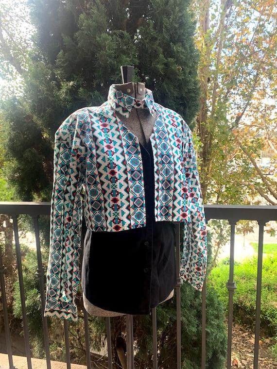 90's Western Side Saddle Women's Shirt