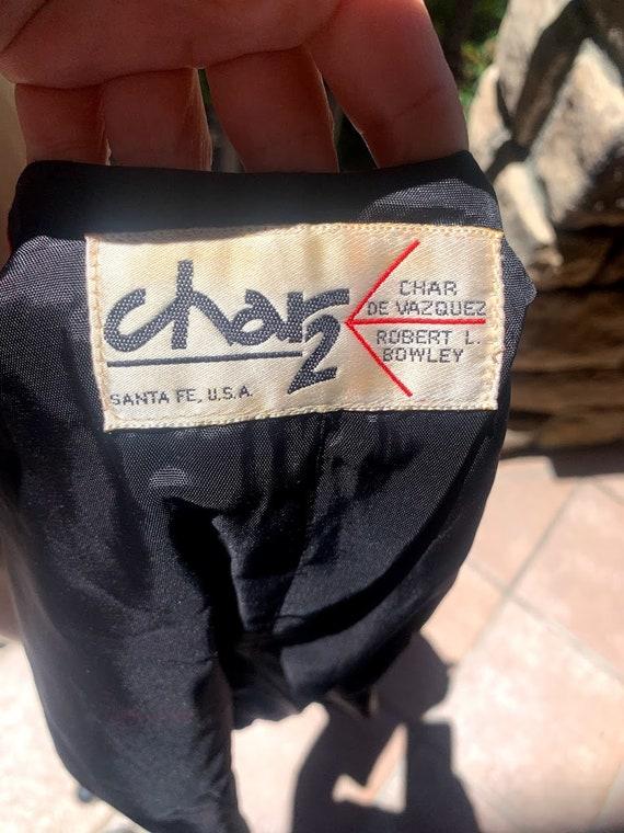 Vintage 1970's Char 2 Suede Vest - image 10