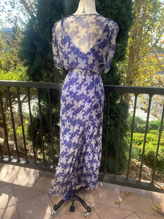 Vintage 1940's Crepe Dress