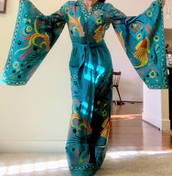 Vintage 1970's Escalera Boho Dress
