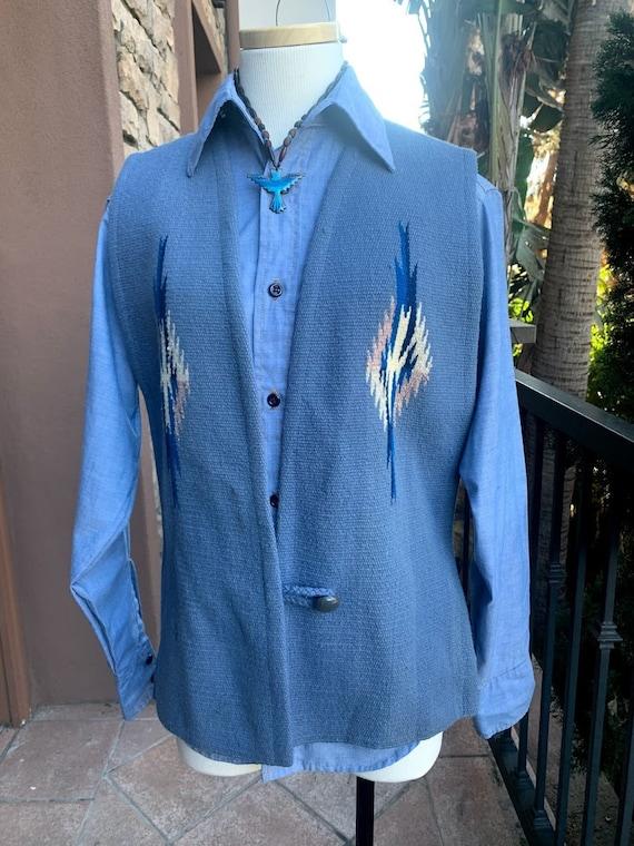 Vintage 70's Chimayo Vest
