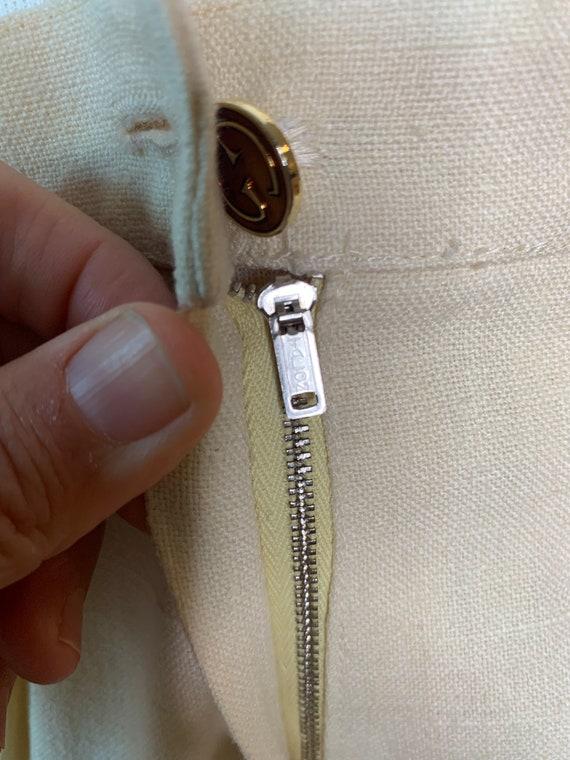 Vintage 70's Gucci Linen Trousers - image 4