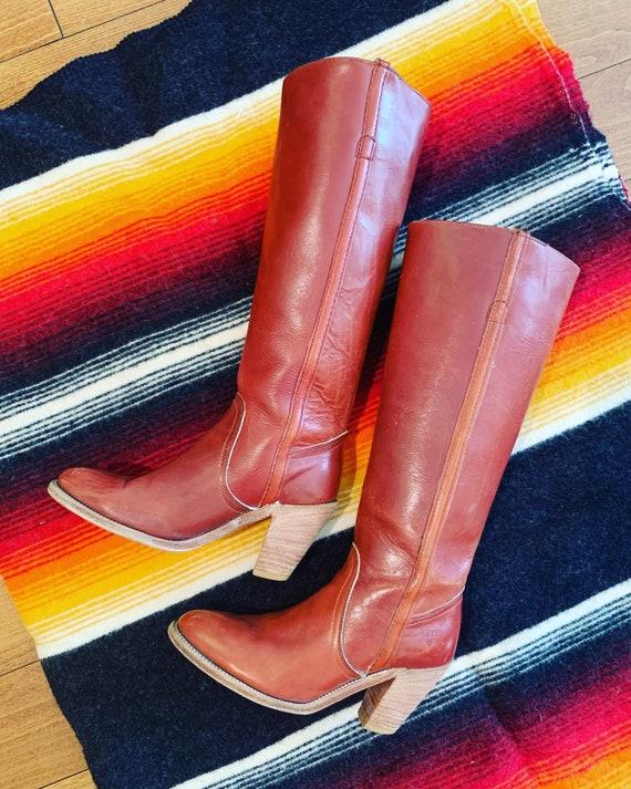Vintage 1970's Frye Boots