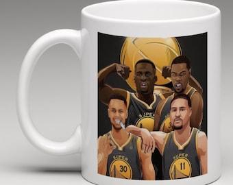 Golden State Warriors Super Villans Mug