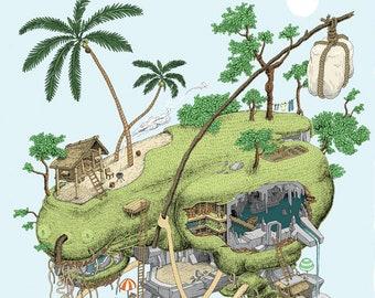 Travelling Island