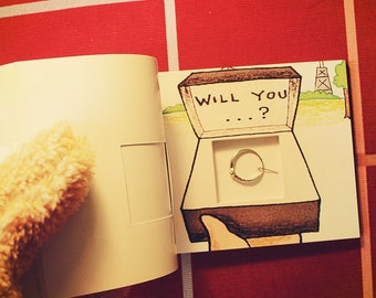 Will You Marry Me Secret Flip Book