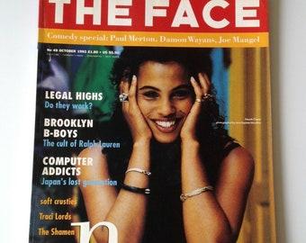 The Face Magazine   Oct 92   Neneh Cherry   Traci Lords, The Shamen, Vanessa Paradis, Lenny Kravitz   Vintage Magazine   London Lifestyle