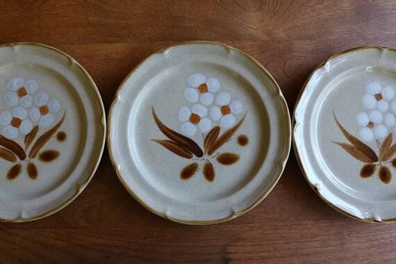 Hearthstone Stoneware Castlewood Salad Plates Set of 4