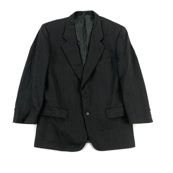 Valentino Vintage Men's Gray Blazer