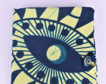African Print Fabric Kindle Paperwhite Case