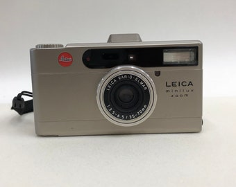 Vintage Leica Minilux Zoom 35mm Camera, Good As New
