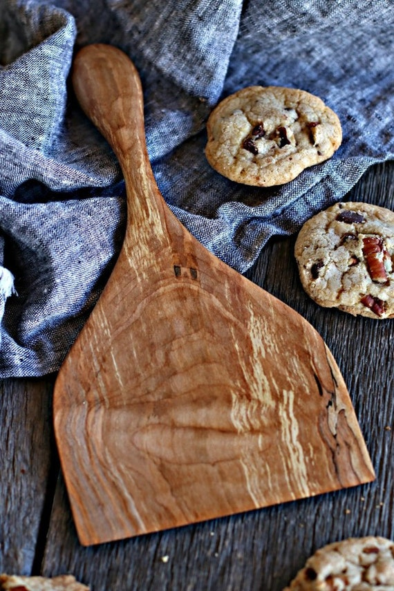 Favorite Baking Spatula   Handcrafted Wood Spatula   Handmade Baker Spatula    American Made Kitchen Utensil   Dreamware