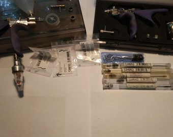 Set of Colani Airbrushes with Tons of Extras