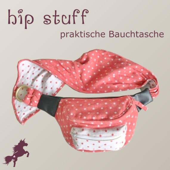hip stuff Hüfttasche Bauchtasche hip bag Nähanleitung und | Etsy