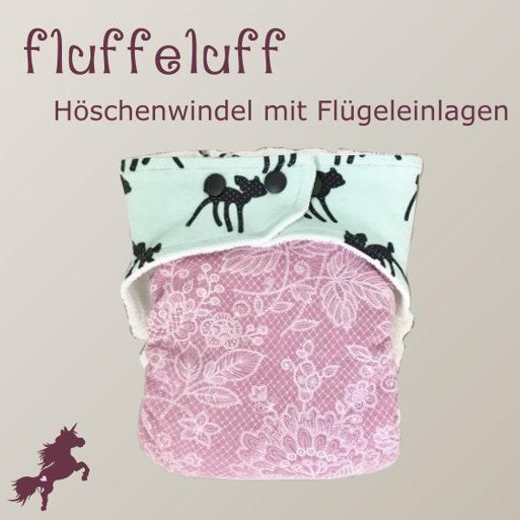 fluffeluff Höschenwindel Stoffwindel Saugwindel | Etsy