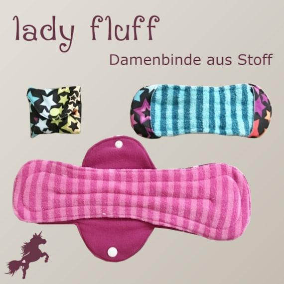 lady fluff Ai2/Aio Stoffbinde & Slipeinlage in 3 Größen | Etsy