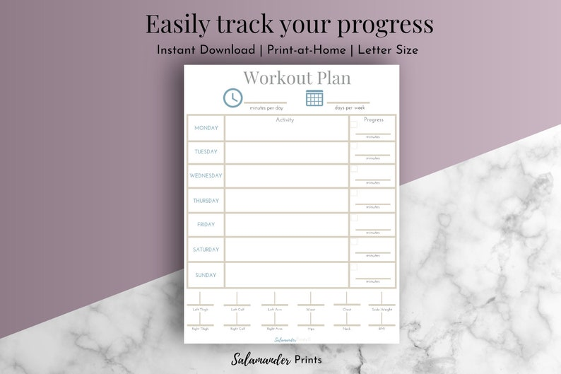 graphic relating to Printable Workouts at Home named Work out Planner Exercise routine Printable Exercise routine Program Fat decline Tracker