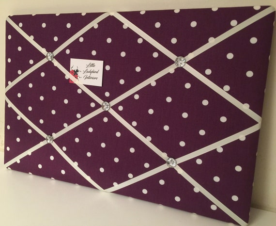 Bespoke Handmade Printed Linen Fabric Pin Memo Notice Board Choice Of Sizes Funky Retro Prints Memo Boards