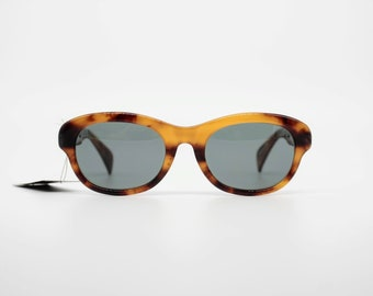 ce21e6f9901 Vintage Sunglasses Jean Paul Gaultier 56-2071 authentic and rare square cat  eye glasses wiht original lenses Made in Japan New Old Stock