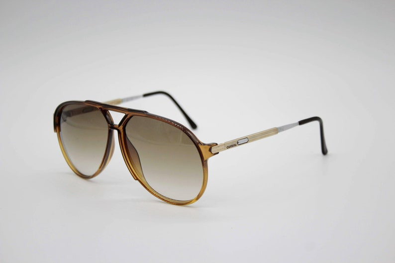 ef86a40c844 Vintage Sunglasses Carrera 5310 Vario by Optyl Aviator Oversize authentic  and rare sunglasses Made in Austria