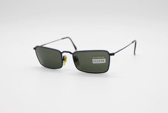 OLIVER by VALENTINO 1320 Original Vintage Square Frame from Sunglasses Classic Round Eyeglasses Glasses NOS Montatura Occhiali