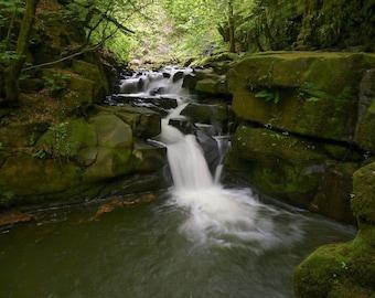 "Waterfall - waterfall photography - waterfall print - 6""x4"""