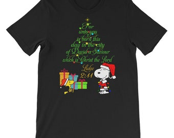 popular items for snoopy christmas - Snoopy Christmas Shirt
