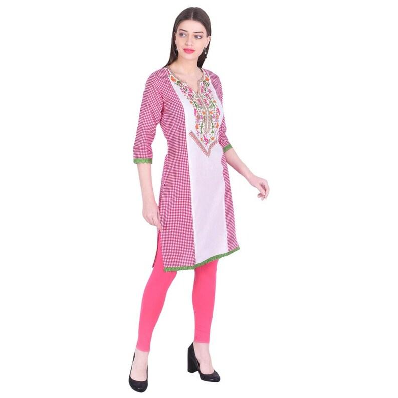 Denika Handicrafts tunic tops kurtis for women designer kurti kurta women Indian casual kurti ladies kurti women dresses 2776