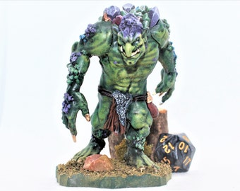 Dd Painted To Order Reaper Bones Troll Miniature For Etsy