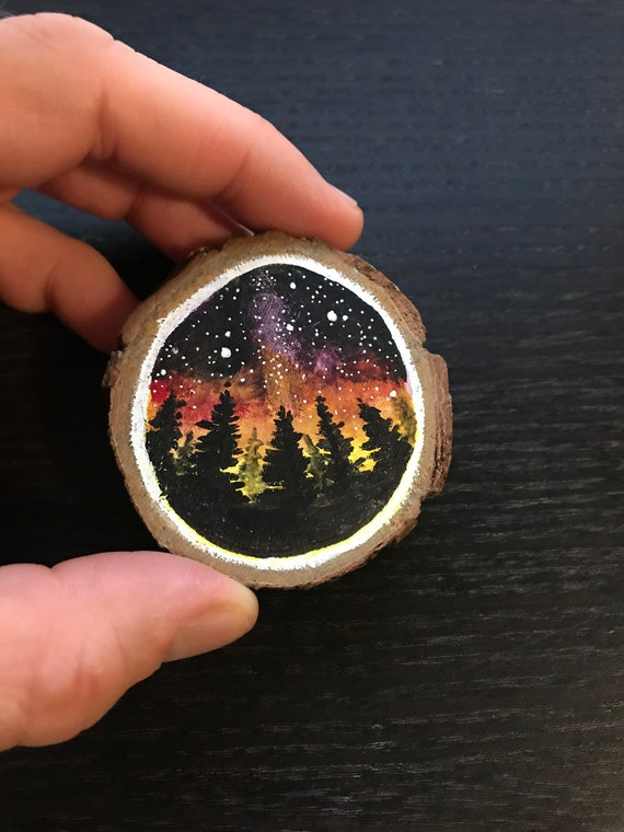 Hand Painted Wood Rounds