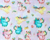 Rainbow Unicorns Personalized Blanket, Stroller Blanket, Ice Cream Minky Baby Lovey, Magic Star Security Blanket, Baby Shower Gift for Girl