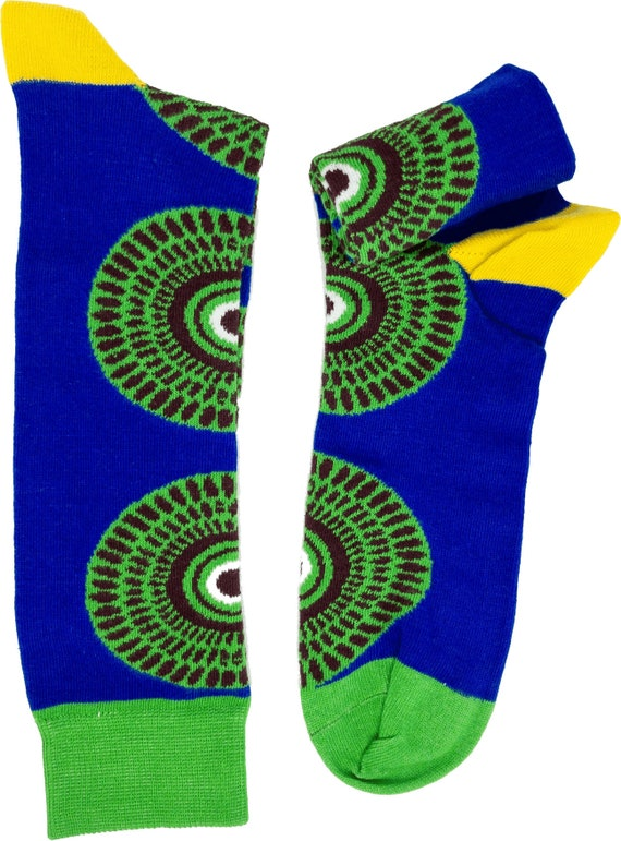 Apuskeleke AfriSocks Kente Socks