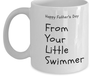 Happy Father's Day From Your Little Swimmer