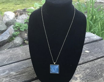 Large square pendant