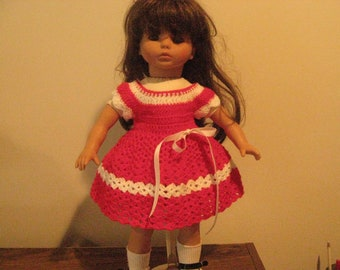 """Handmade American Girl Doll Dress of any 18"""" Dolll Clothes by Ella Wise"""