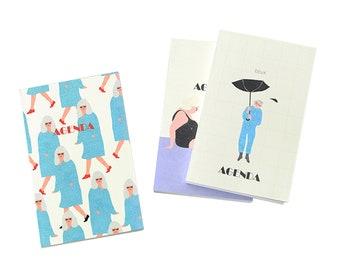 Livework Mon Petit Diary - 3 Type Simple Illustration