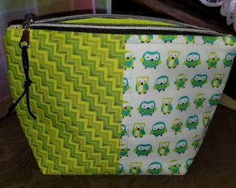 Owl Zipper Bag
