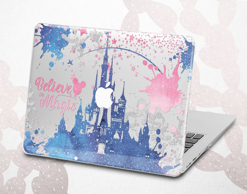 dd26639fc982 Disney Macbook case Magic Macbook Pro 13 inch Castle Macbook Air 13 2018  case Gift for Her Hard case Retina Plastic Macbook Pro 15 2018 case
