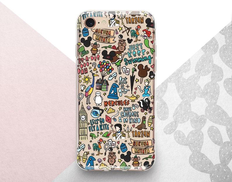 big sale 38a60 7ae53 Inspired by Disney iPhone x xr xs 8 7 case Cartoon Pattern Google Pixel 3a  3 2 XL Mickey Mouse Samsung 10 9 8 7 case Magic LG G8 G6 G5 Case