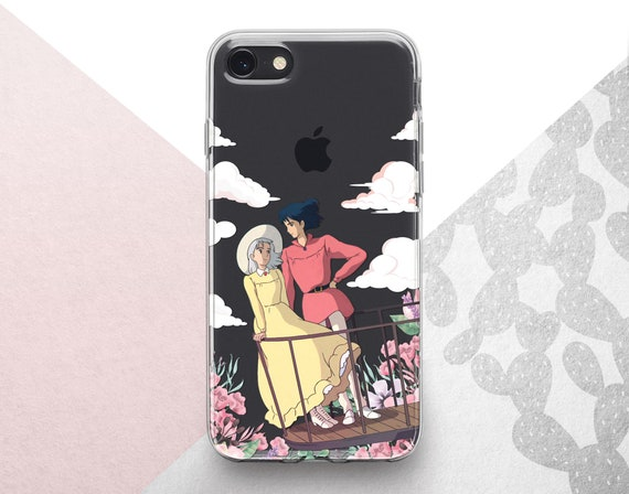 Sophie And Calcifer Howl s Moving Castle iphone case