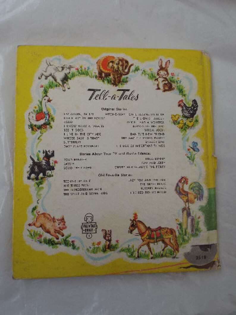 The Road Runner (And The Bird Watchers) A Vtg  1968 Whitman's Tell-a-Tale  Book Hardcover Child's Book