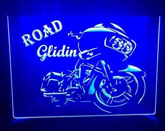 Harley Davidson Sign Etsy