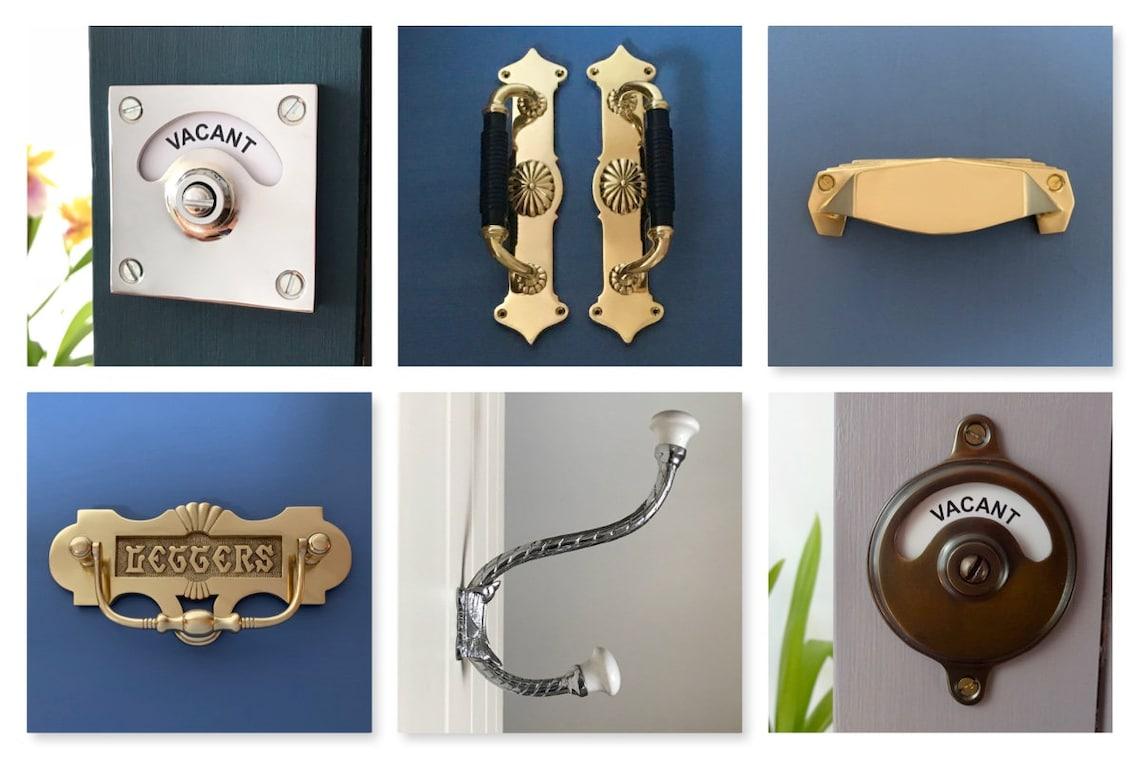 8 Nickel Silver Beehive Drawer Cupboard Knobs Door Pull Handles Grab Kitchen Wardrobe cabinet decor vintage