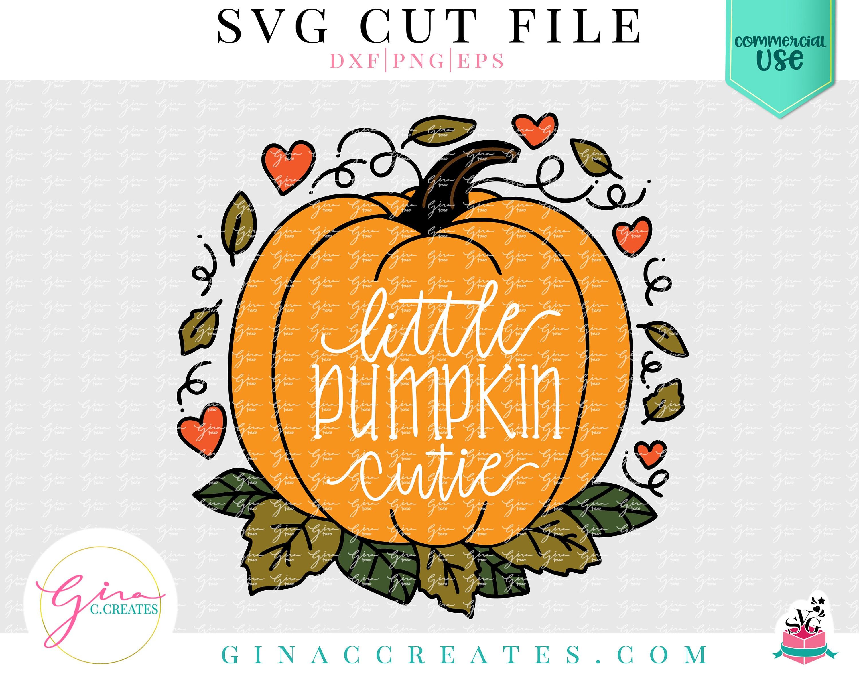 Little Pumpkin Cutie Svg Bundle Etsy