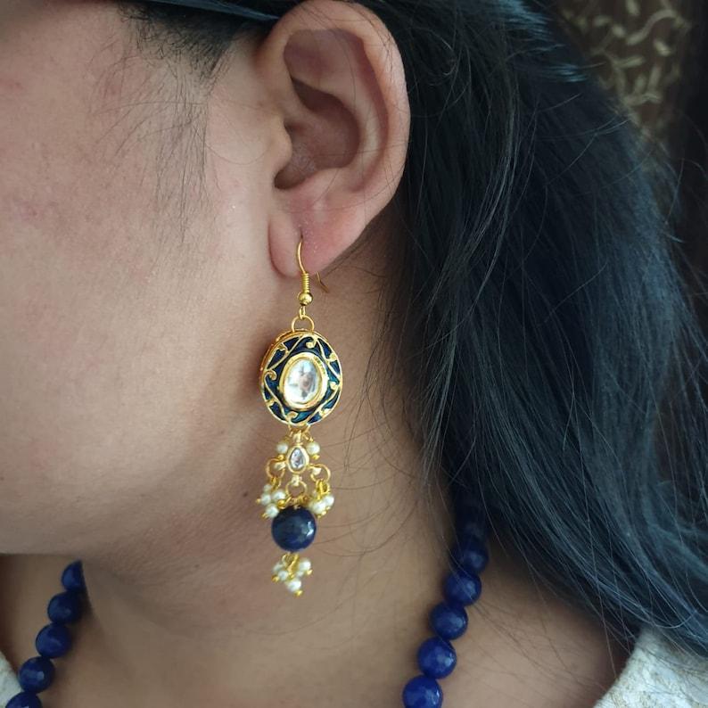Kundan Jewelry Bollywood Jewelry Wedding Jewelry Traditional Jewelry Bridal Jewelry Kundan Meena Jewelry Indian Jewelry Indian Bride