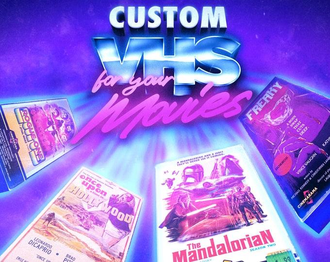 Custom VHS slip case